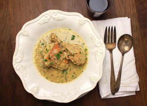 Pollo al Andaluz - Andalusian-style chicken