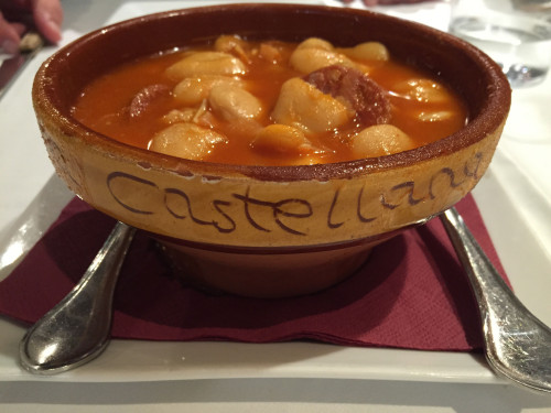 Authentic Castilian Soup at La Taberna del Pelon, La Granja